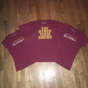 """The Other Team Sucks"" Maroon & Gold MN Gophers"